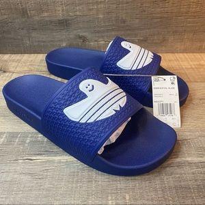 Adidas SHMOOFOIL Slides 'Victory Blue'